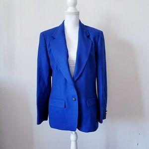 Vintage Pendleton Women's Wool Blazer Sport Coat
